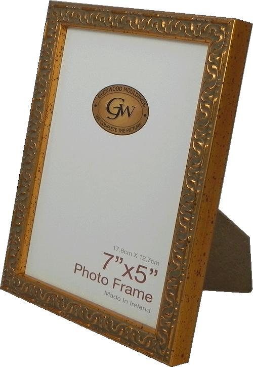 Glenwood Mouldings Ltd. Ornate Gold Photo Frame
