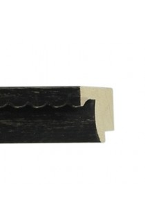 SHABBY BLACK FRILL