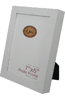 32 White Photo Frame - GW32White-PH