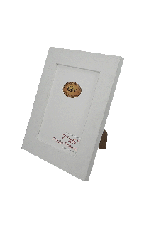Flat White Photo Frame - GW3314White-PH