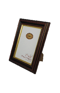 Brown With Gold Line Photo Frame - GW475BG-PH