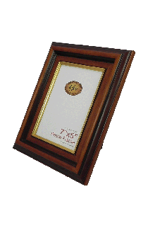 Brown With Gold Line Photo Frame - GW575BG-PH
