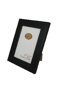 Flat Black Photo Frame - GW605-Black-PH