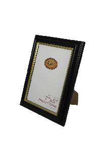 Black With Gold Line - GW649-PH