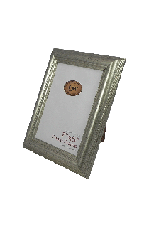 Silver Plastic Photo Frame - GW68-02-Silver-PH