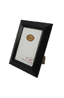 Black Plastic Angled Photo Frame - GW69BLKPLASTIC-PH