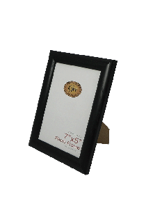 Black Plastic Rounded Photo Frame - GW8001-01