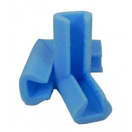 Blue Polyethylene foam corner protector 15-25mm